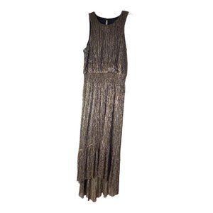 BANANA REPUBLIC Sleeveless Tiered Maxi Dress NEW